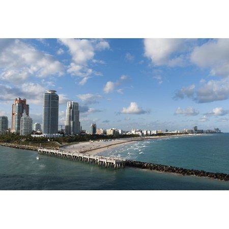 South Beach, Miami Beach, Florida, United States of America, North America Print Wall Art By Sergio - Halloween North Miami Beach
