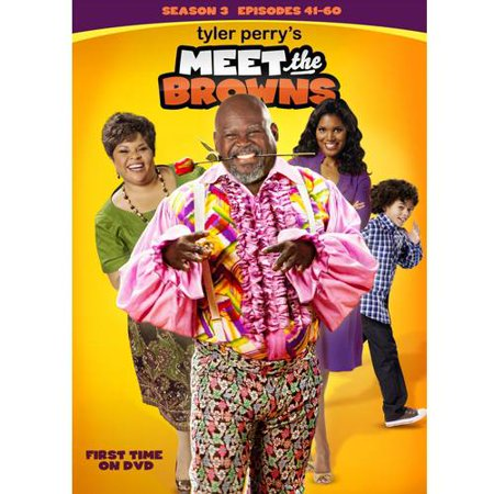 Tyler Perry's Meet the Browns - 4.