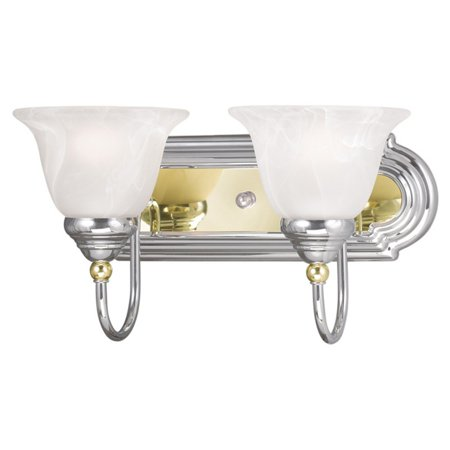 - Livex Lighting Belmont 2 Light Bath Vanity