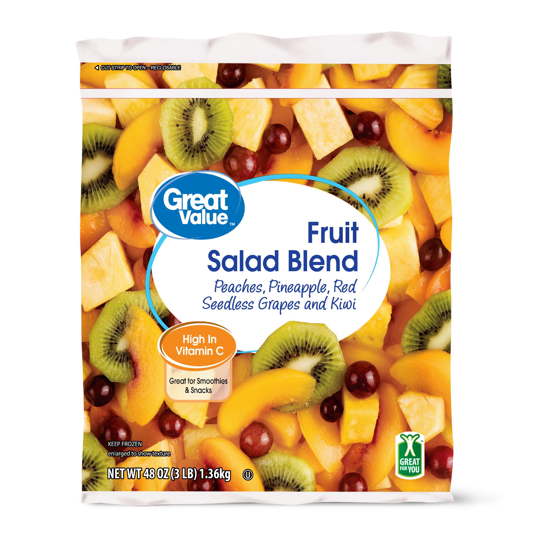 Great Value Fruit Salad Blend, 48 oz