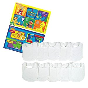 Neat Solutions Sesame Street Table Topper with Travel Case (50 Count) with Feeder Bibs