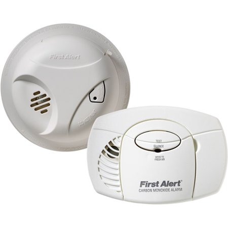 Buy First Alert SCO403 Carbon Monoxide and Smoke Detector, Combo Pack