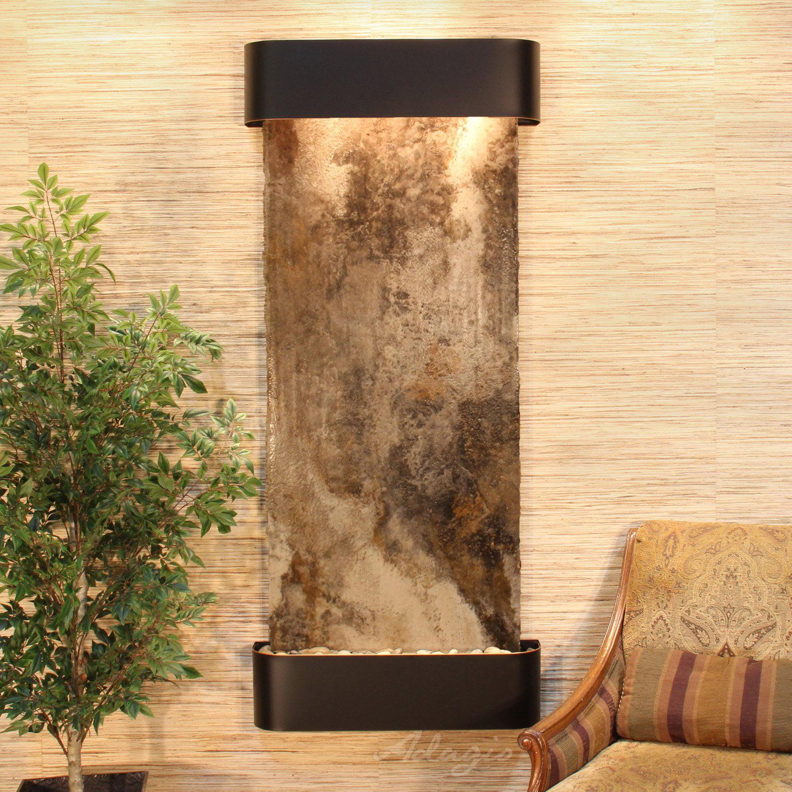 Adagio Inspiration Falls Wall Indoor Fountain - Walmart.com