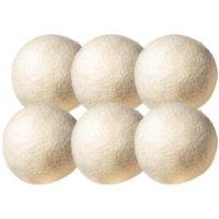 OxGord Wool Non-Toxic Reusable Dryer Balls (Set of 6)