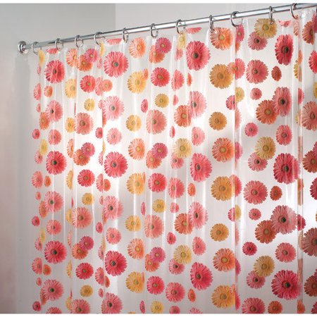 Interdesign Clear Gerbera Daisy Shower C