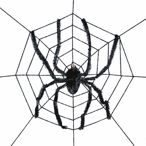 "94"" Spider Web with Spider"