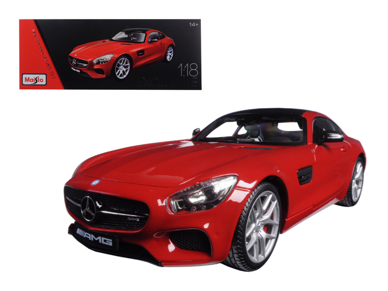 Mercedes AMG GT Red Exclusive Edition 1 18 Diecast Model Car by Maisto by Mercedes AMG