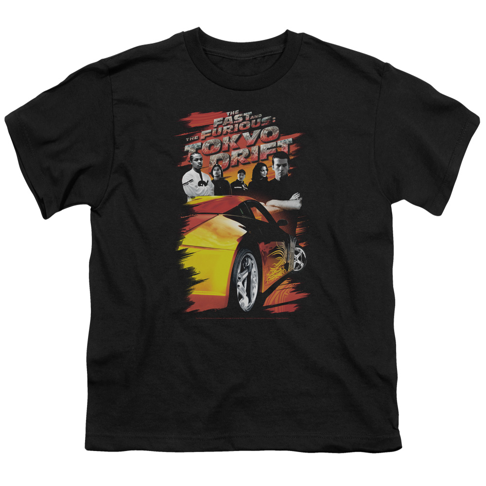 The Fast and the Furious Tokyo Drift Drifting Crew Big Boys Shirt