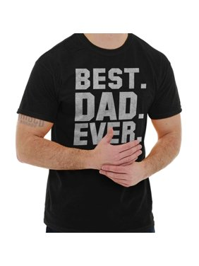e2eb722b22 Product Image Brisco Brands Best Dad Father Ever Bold Gift Short Sleeve  Adult T-Shirt