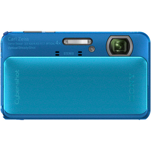 Sony Cyber-shot DSC-TX20 16.2 MP Exmor R CMOS Digital Camera with 4x Optical Zoom and 3.0-inch LCD (Blue) (2012 Model)