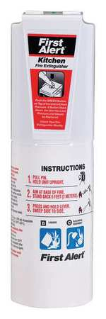 First Alert 2 lb. Capacity, Fire Extinguisher, Dry Chemical, KITCHEN5-WWG by BRK Electronics