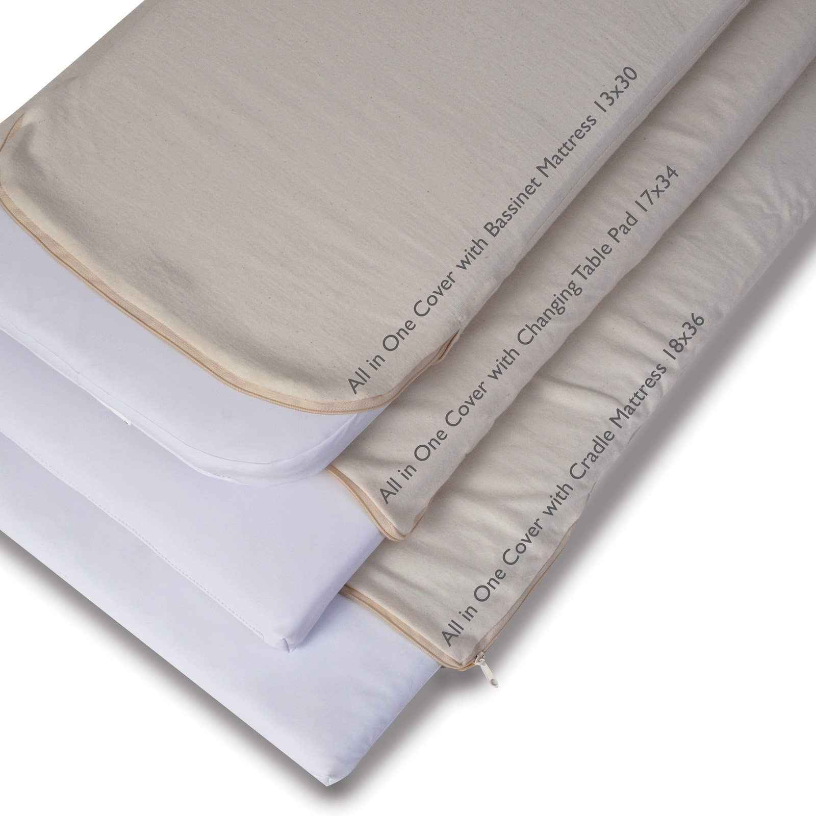 Moonlight Slumber Cotton Contour Changing Pad Cover