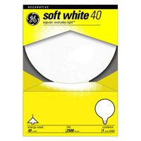 GE Lighting 40W Vanity Globe Light Bulb - 6 pk.
