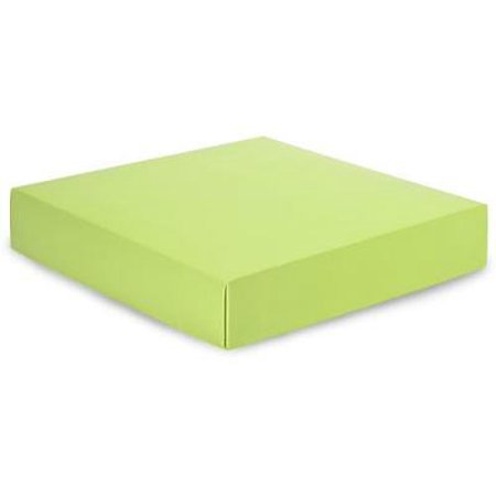 "1 Unit 10x10x2"" Matte Pistachio Box Lids Unit pack 25"