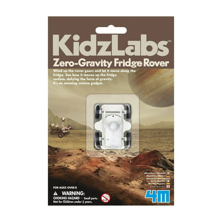 4M Kids Labs Zero-Gravity Fridge Rover (STEM)