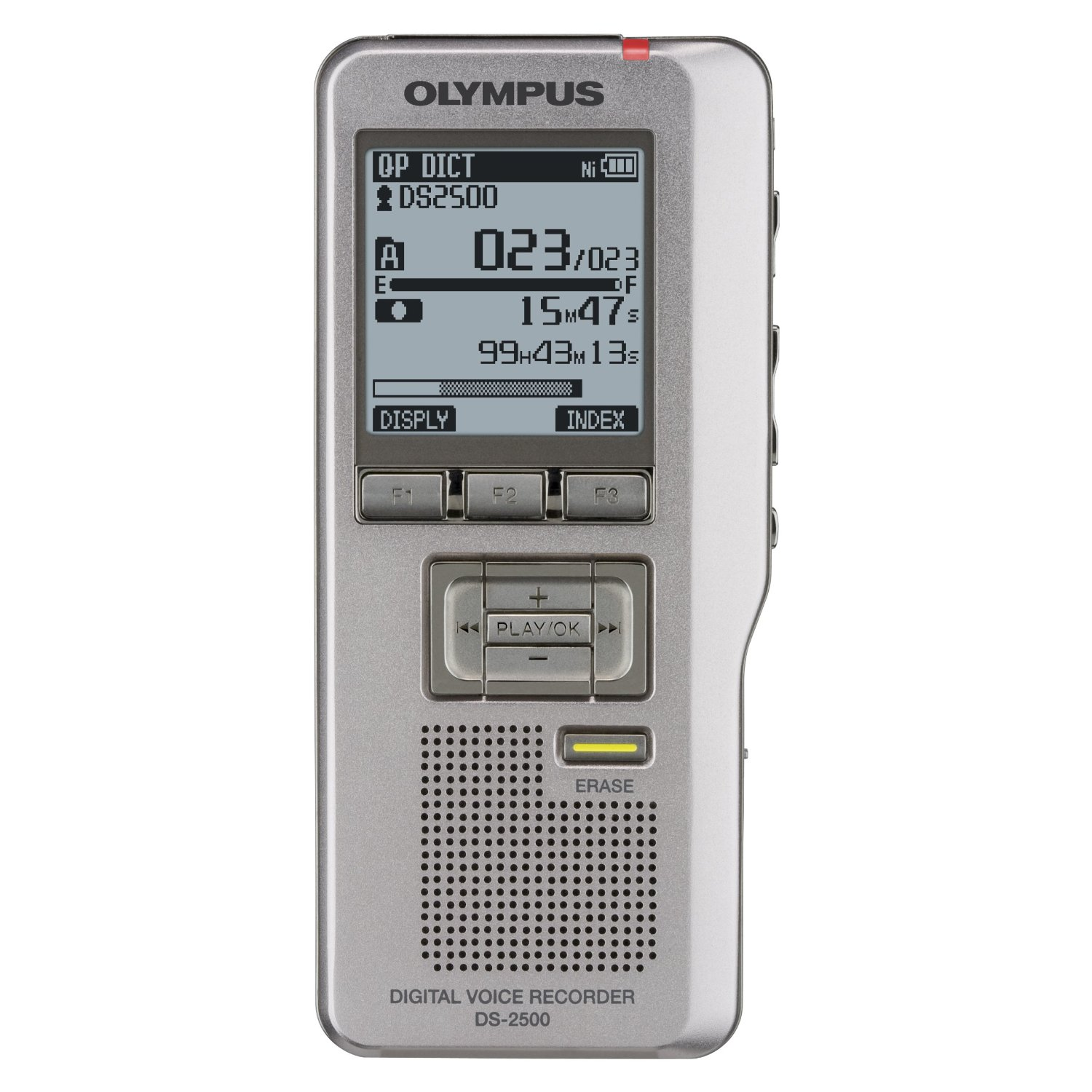 Digital Voice Recorder with 2GB SD Card