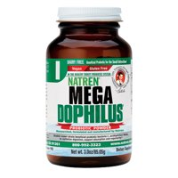 Natren Mega Dophilus Probiotic Dairy Free Powder, 3 Oz