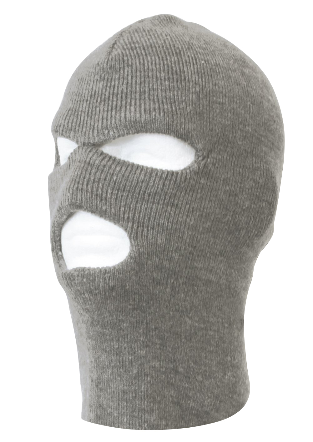 TopHeadwear's 3 Hole Face Ski Mask, Heather Grey by