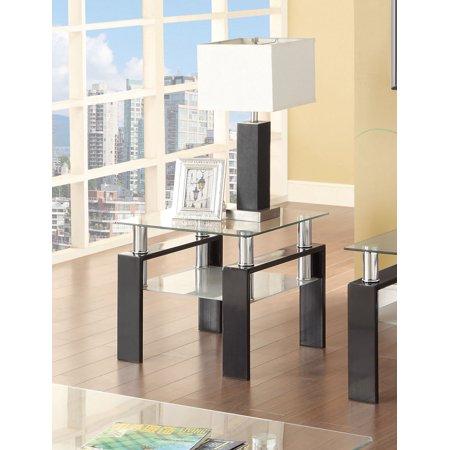 Coaster Occasional Contemporary Black Side Table 702287 Contemporary Design Occasional Table