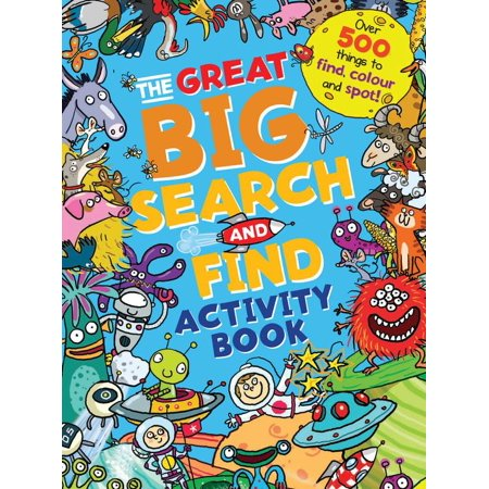 The Great Big Search and Find Activity Book - Halloween Activities For The Office