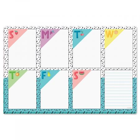 Attached Pad (Fruity Magnetic Calendar Pad - Small 5.5 x 8.5