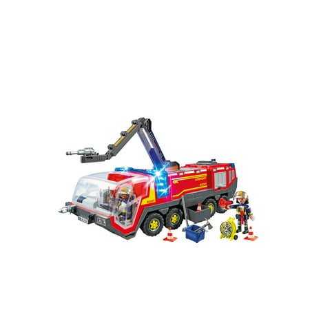 PLAYMOBIL Airport Fire Engine with Lights and -