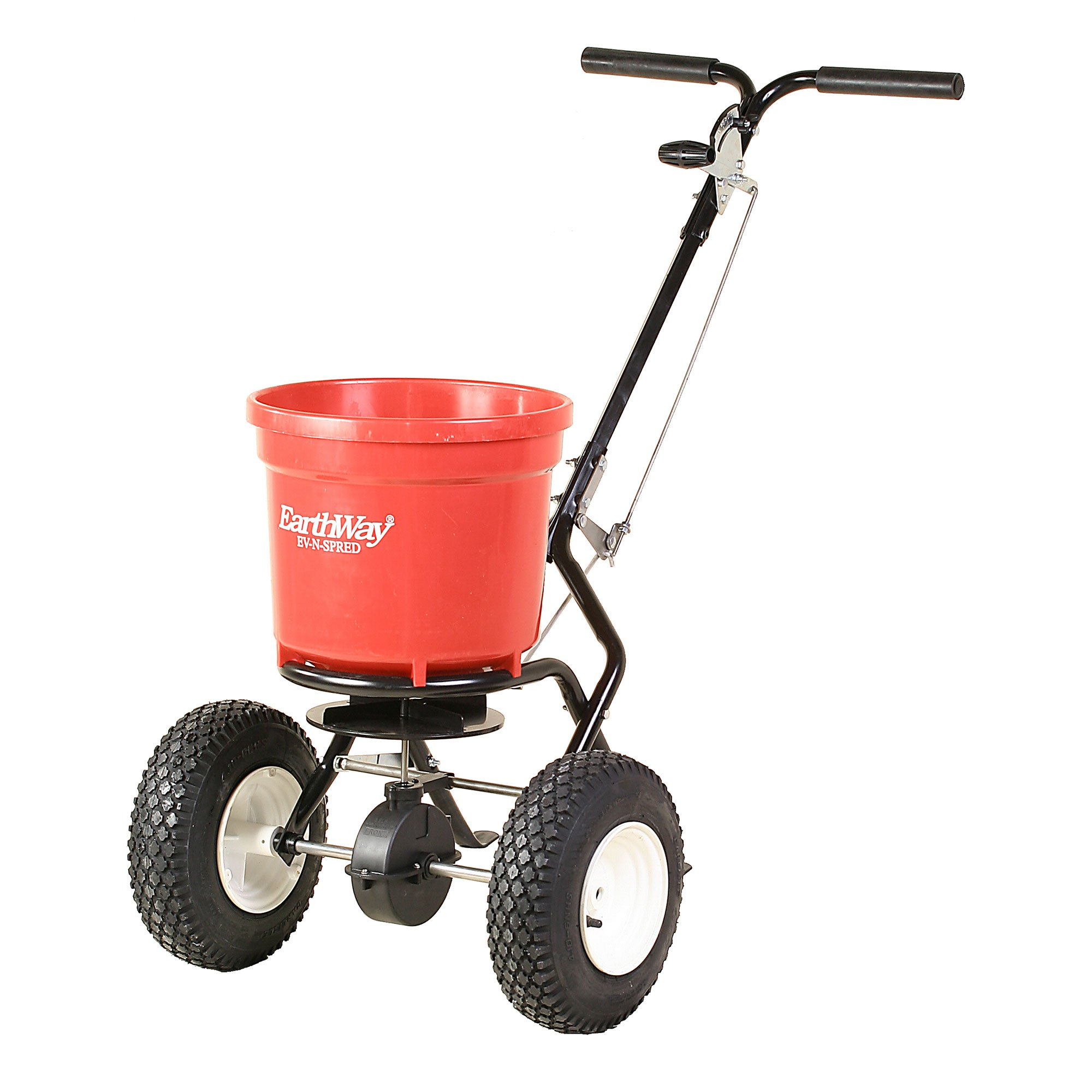 Earthway 2150 50 Lb Commercial Broadcast Walk Behind Garden Seed Salt Spreader by Earthway Products, Inc