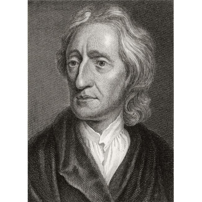 Design Pics DPI1861186 John Locke 1632 To 1704 English Philosopher Poster Print, 12 x 17 - image 1 de 1