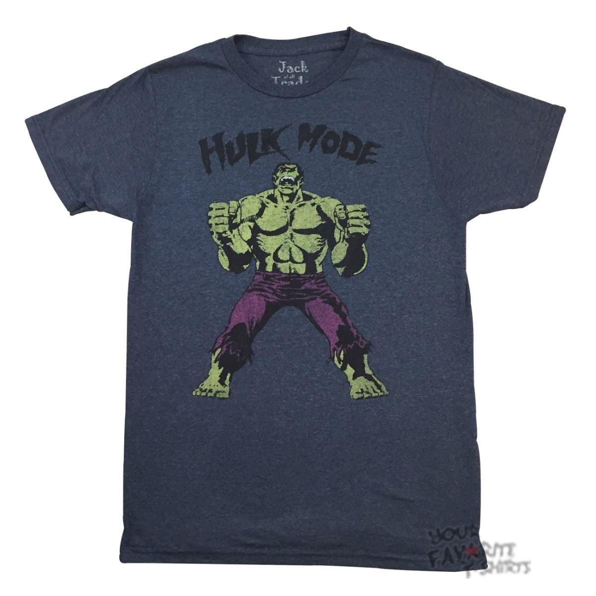 Hulk Mode Marvel Comics Adult T-Shirt