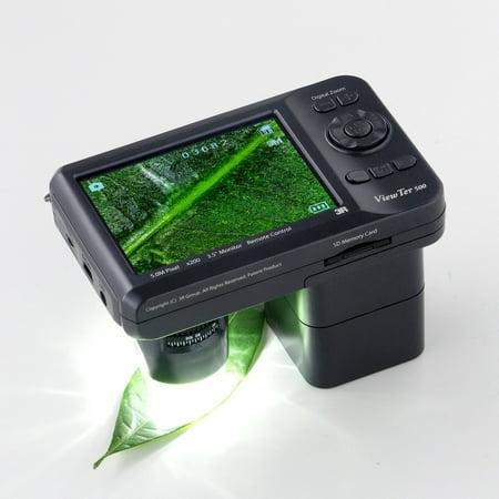 Vividia 3R-500UV 3.5 Inch Portable Handheld Digital Microscope with White/UV LED