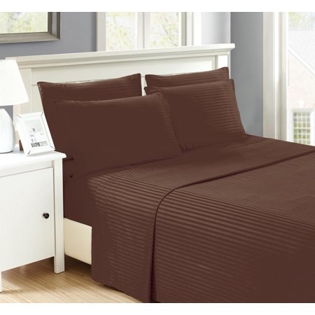 (Sally Mizrahi Wrinkle Free Multi Piece Sheet Set With Fitted Sheet, Flat Sheet, Pillow Case)