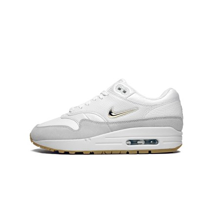 Womens Nike Air Max 1 Premium SC Jewel Summit White Metallic Gold Star