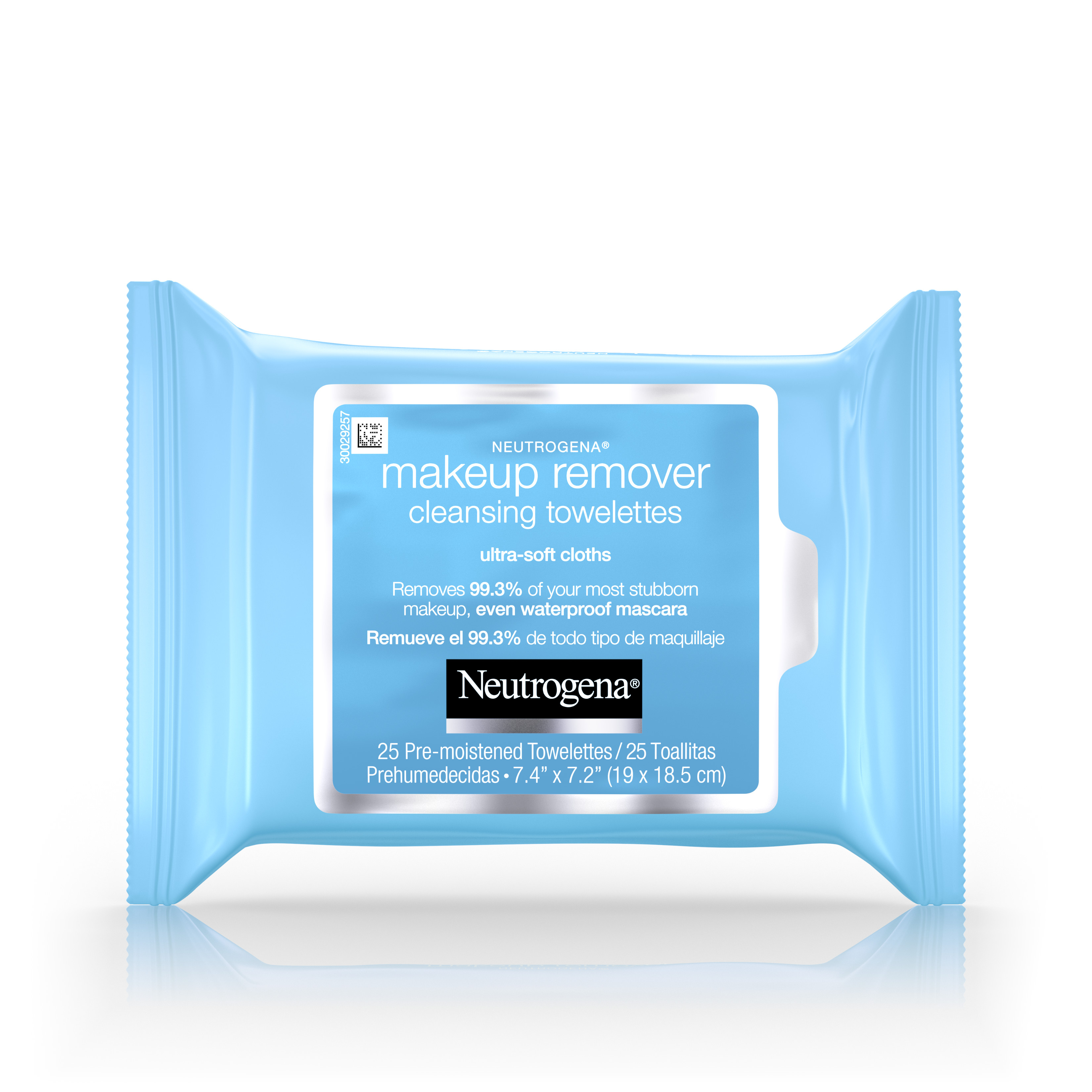 Neutrogena Makeup Remover Cleansing Towelettes Refill Pack, 25 Count - Walmart.com