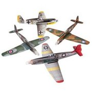 Large War Plane Gliders - Party Favors - 12 Pieces