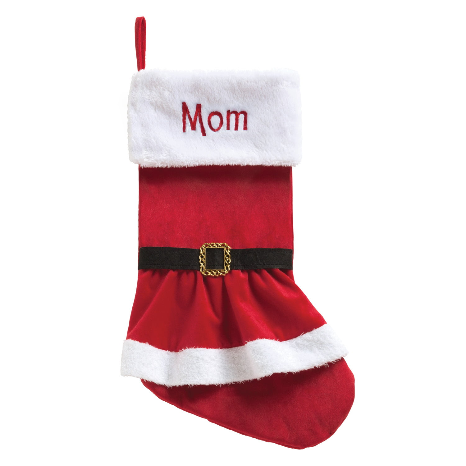 Personalized Elf, Santa Or Mrs. Claus Dress Christmas Stocking ...