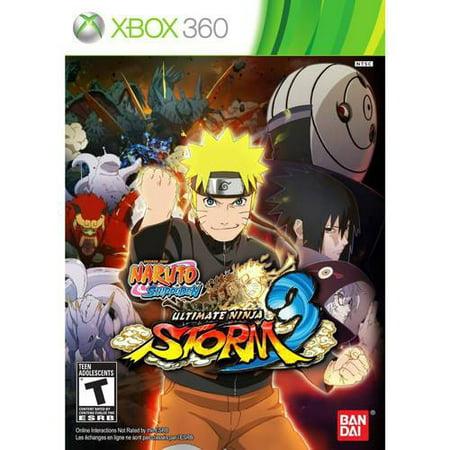 Naruto Shippuden: Ultimate Storm 3 (Xbox 360)