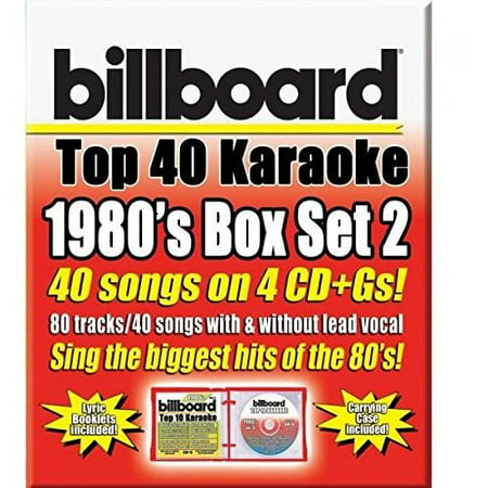 - Party Tyme Karaoke: Billboard 1980's Top 40 Karaoke Box Set 2 (CD)