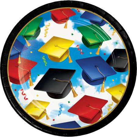 Creative Converting Graduation Celebration Dessert Plates, 50 ct](Graduation Plates)