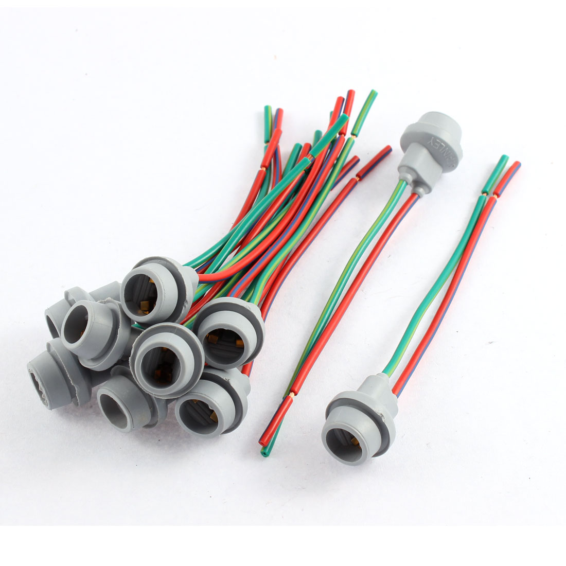 Car W5W T10 194 168 Light Socket Lamp Holder Wire Harness Connector 10 Pcs