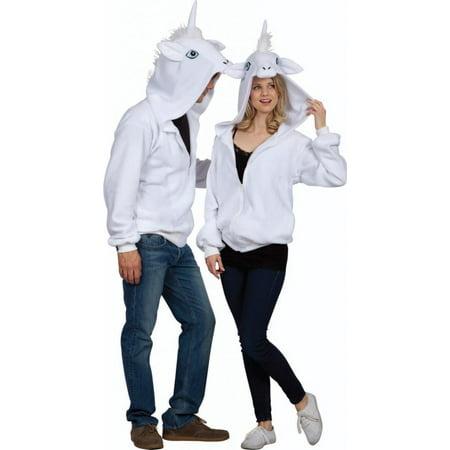 Una The Unicorn Adult Hoodie Costume