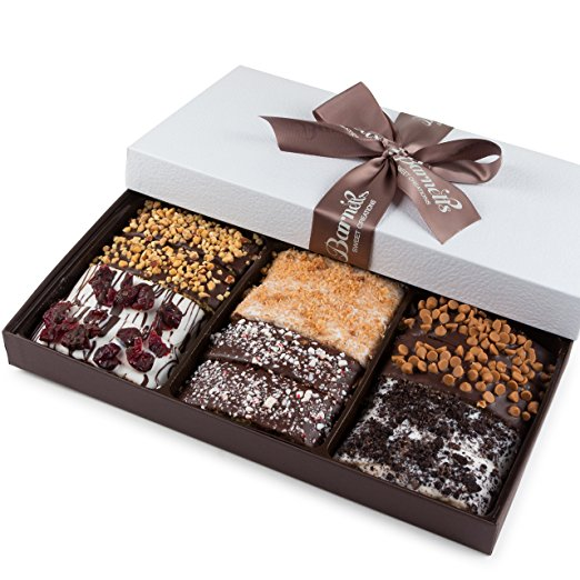 Gourmet Chocolate Biscotti Gift Basket for Him Her Man Wo...