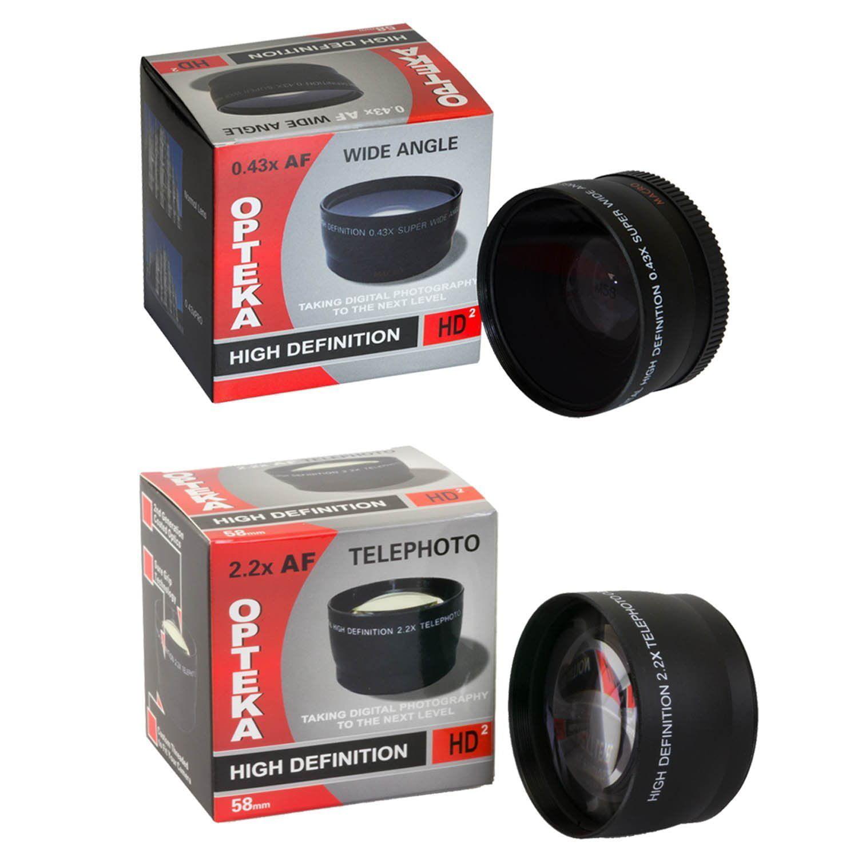 25 piece advanced lens package for the nikon d7100 d7000