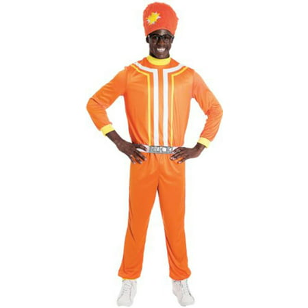 Yo Gabba Gabba! Dj Lance Rock Costume Adult (Hard Rock Halloween)