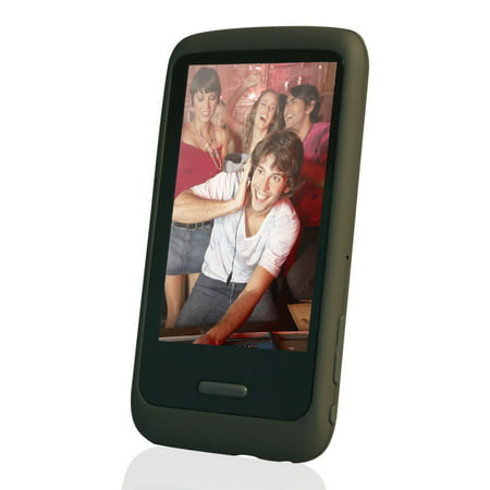 HOTT 8GB Touchscreen Digital Music and Video Player with Speaker and FM -