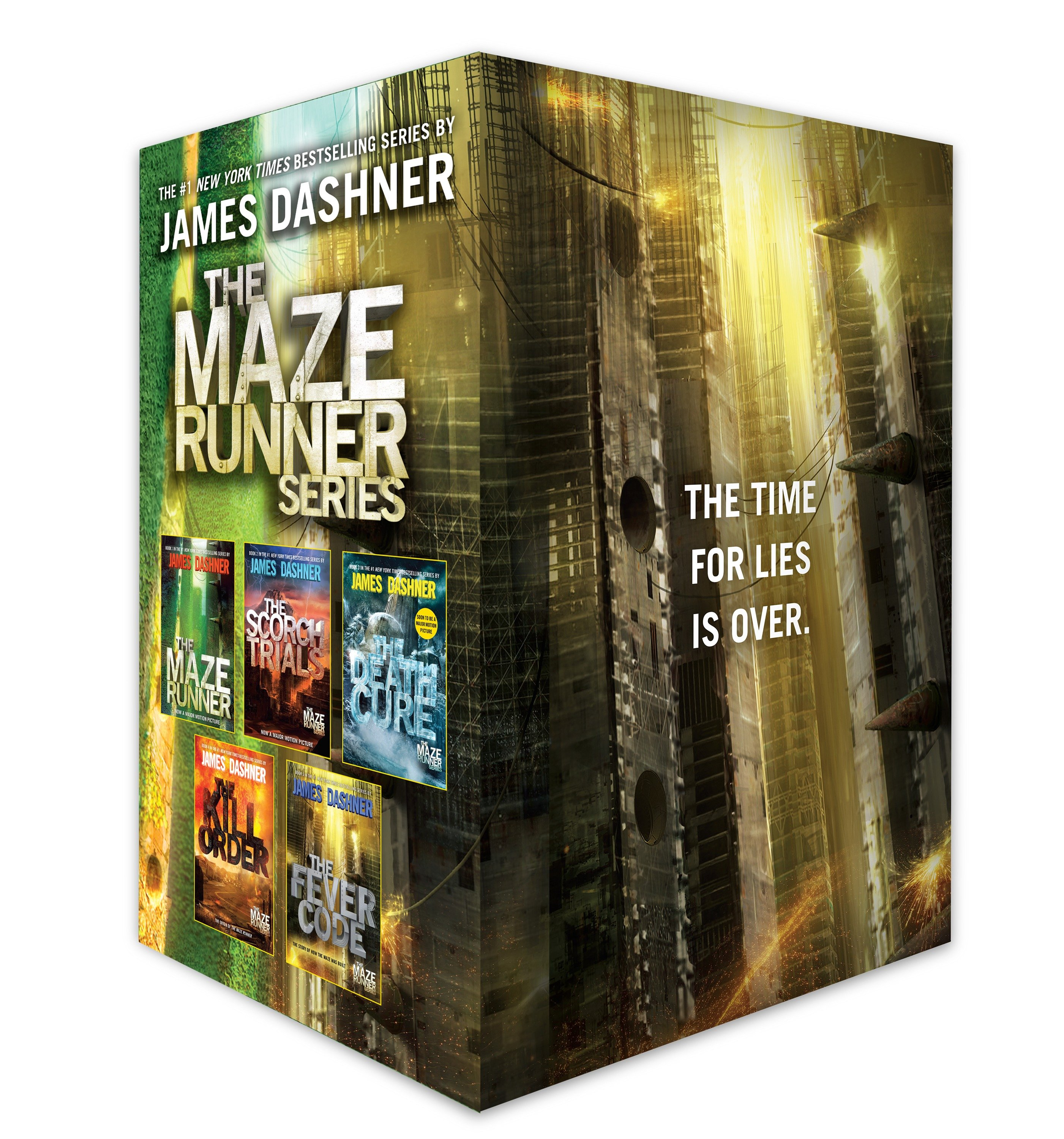 The Maze Runner Series Complete Collection Boxed Set (5-Book) (Paperback)
