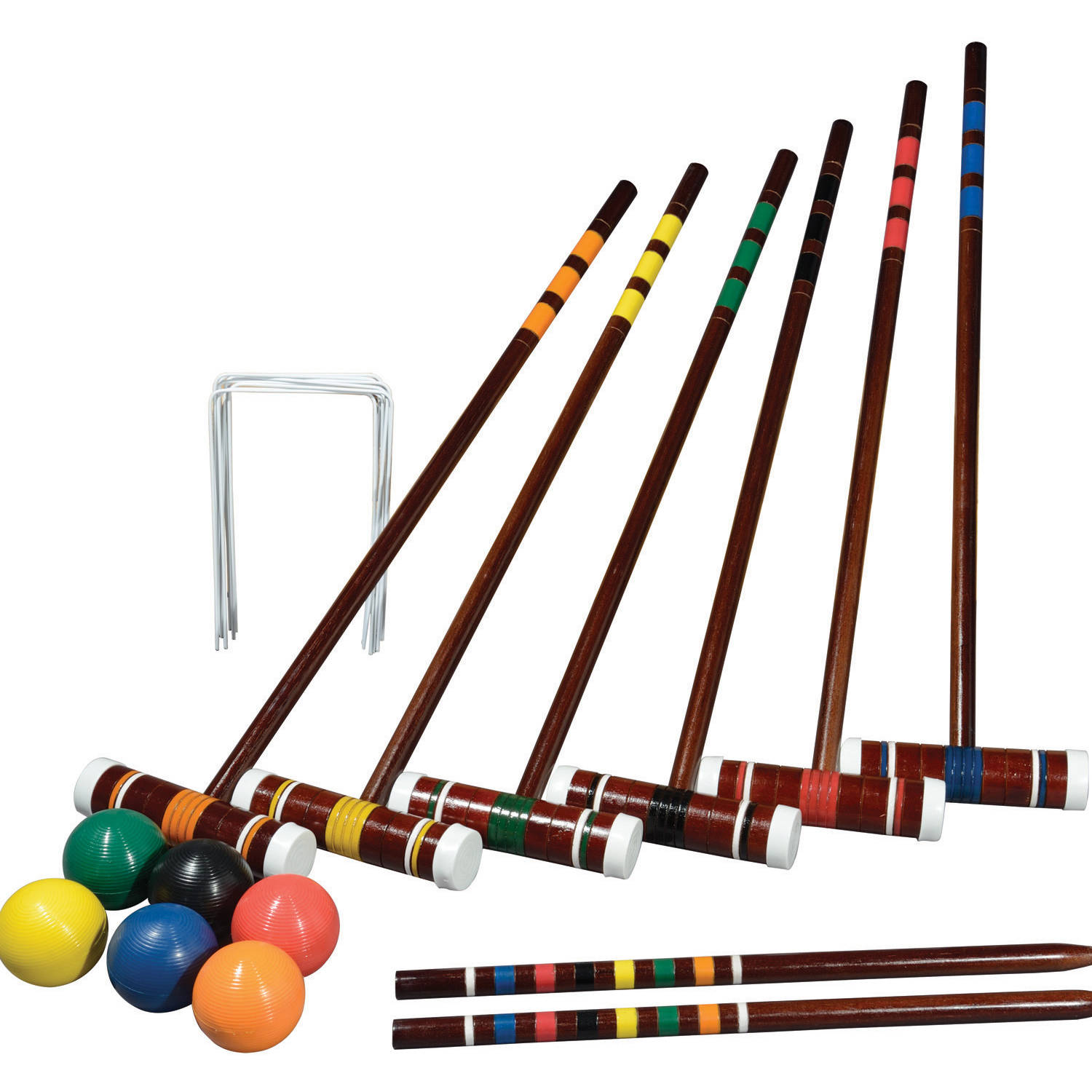 Franklin Sports Intermediate 6 Player Croquet Set