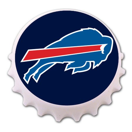 Buffalo Bills Bottle Cap Magnet Bottle Opener