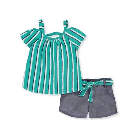 Jade Silk Shorts - RMLA Girls' 2-Piece Shorts Set Outfit