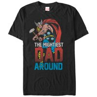 Marvel Thor Mightiest Dad Mens Graphic T Shirt