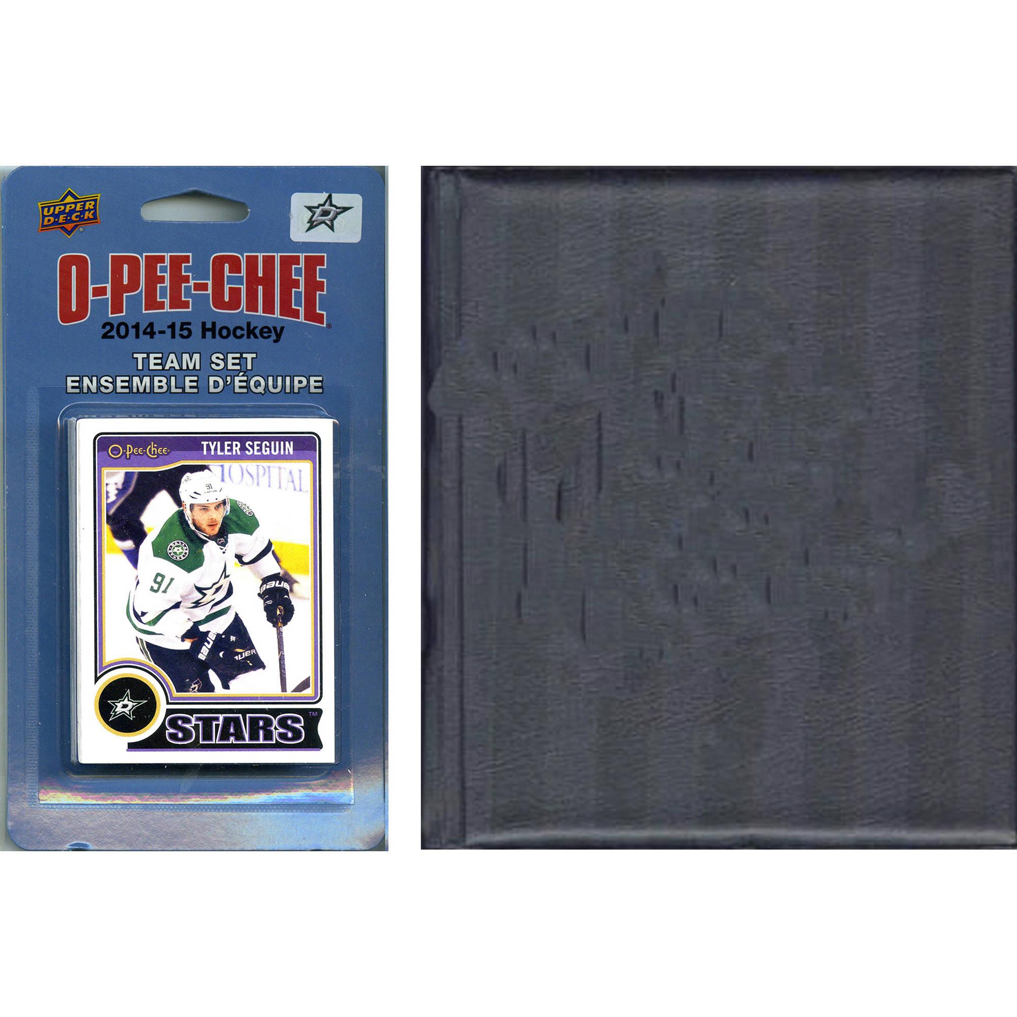 C&I Collectables NHL Dallas Stars 2014 O-Pee-Chee Team Set and Storage Album